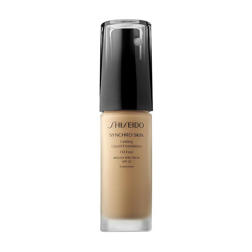 Shiseido Synchro Skin Lasting Liquid Foundation SPF 20 Rose 3