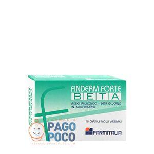 Farmitalia srl Finderm Forte Beta 10cps Molli