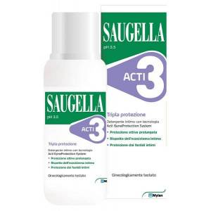 Meda pharma spa Saugella Acti3 Det Intimo250ml