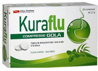 Pool pharma srl Kuraflu Gola Eucalipto 20cpr
