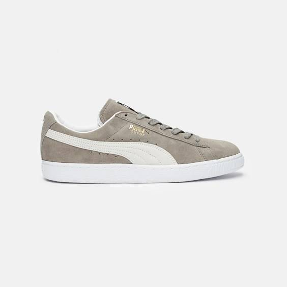 Puma Suede Classic Eco In Grey - Size 40