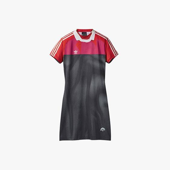 Adidas Photocopy Dress For Women In Black - Size Ws