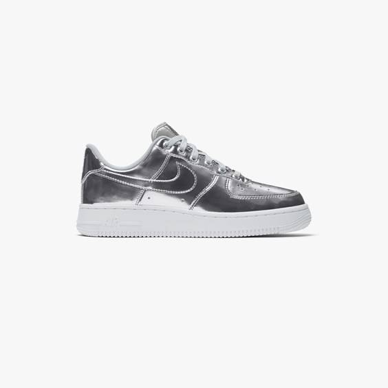 Nike Air Force 1 Sp For Women In Silver - Size 41