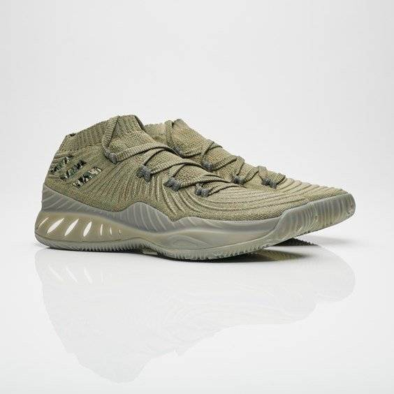 Adidas Crazy Explosive Low For Men In Green - Size 44