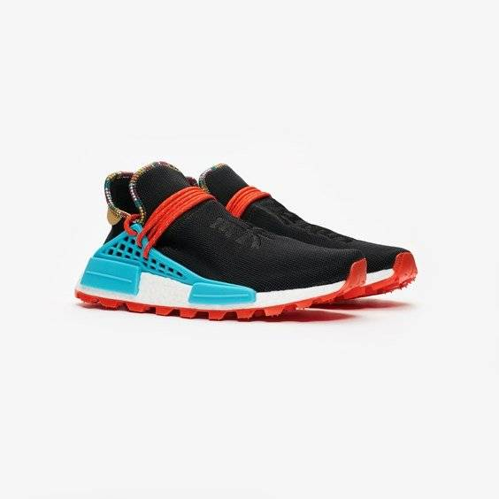 Adidas Pw Hu Nmd For Men In Black - Size 42 ⅔