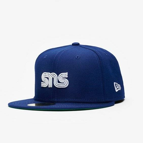 New Era Sns X Mlb Los Angeles Dodgers In Blue - Size 7 7/8