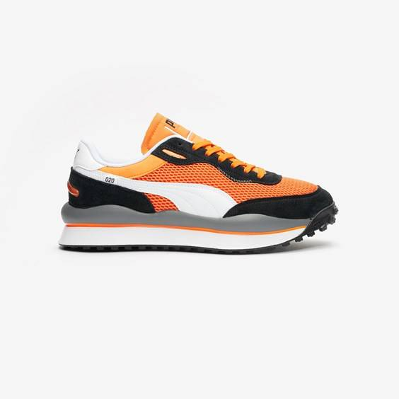 Puma Style Rider Og Pack In Orange - Size 40