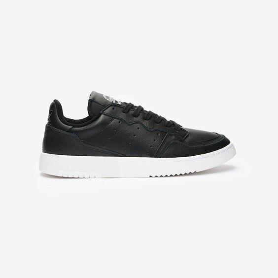Adidas Supercourt In Black - Size 40 ⅔