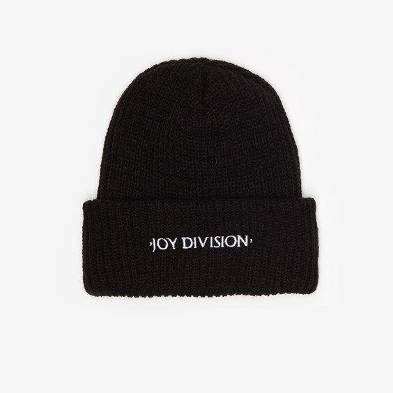 Pleasures Joy Division Beanie In Black - Size Os