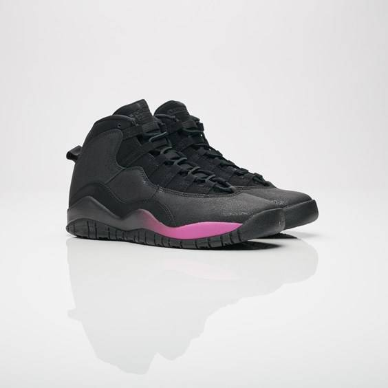 Jordan Brand Air Jordan 10 Retro Gs For Women In Black - Size 36.5