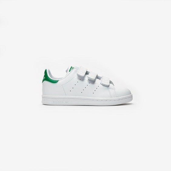 Adidas Stan Smith Cf C In White - Size 29
