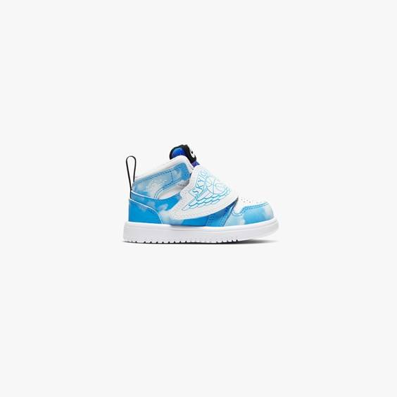Jordan Brand Sky Jordan 1 Fearless (Td) In Blue - Size 25