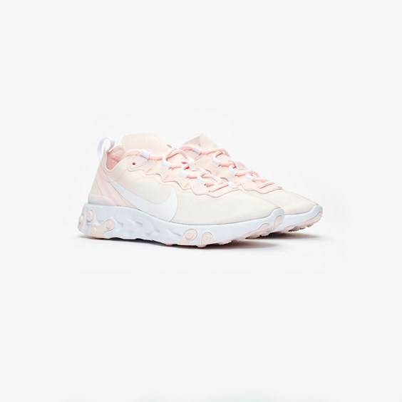 Nike React Element 55 For Women In Pink - Size 40.5