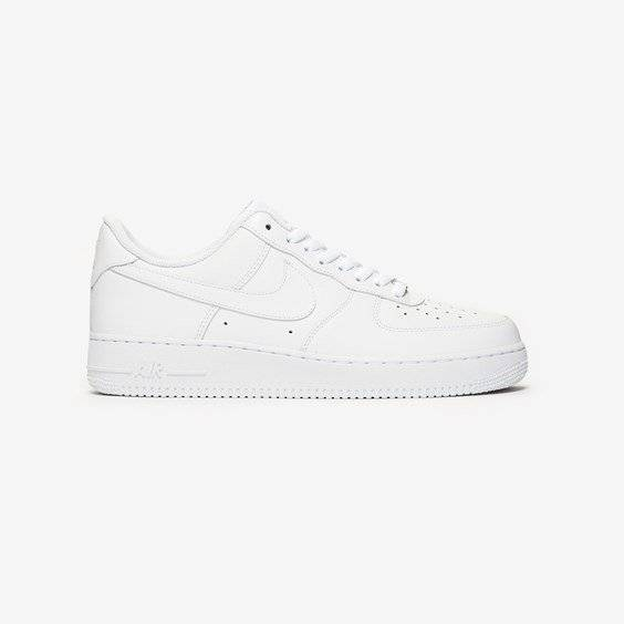 Nike Air Force 1 Low In White - Size 47