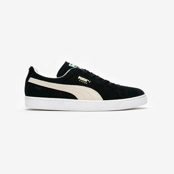 Puma Suede Classic+ In Black - Size 41