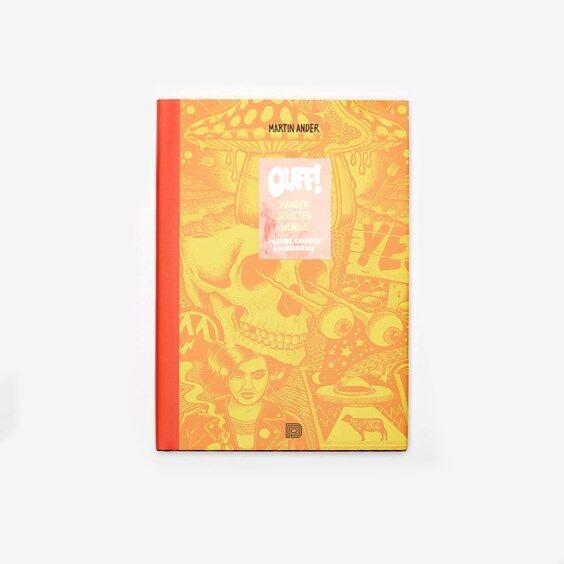 Dokument Press Ouff! Mander Selected Works In Orange - Size Misc