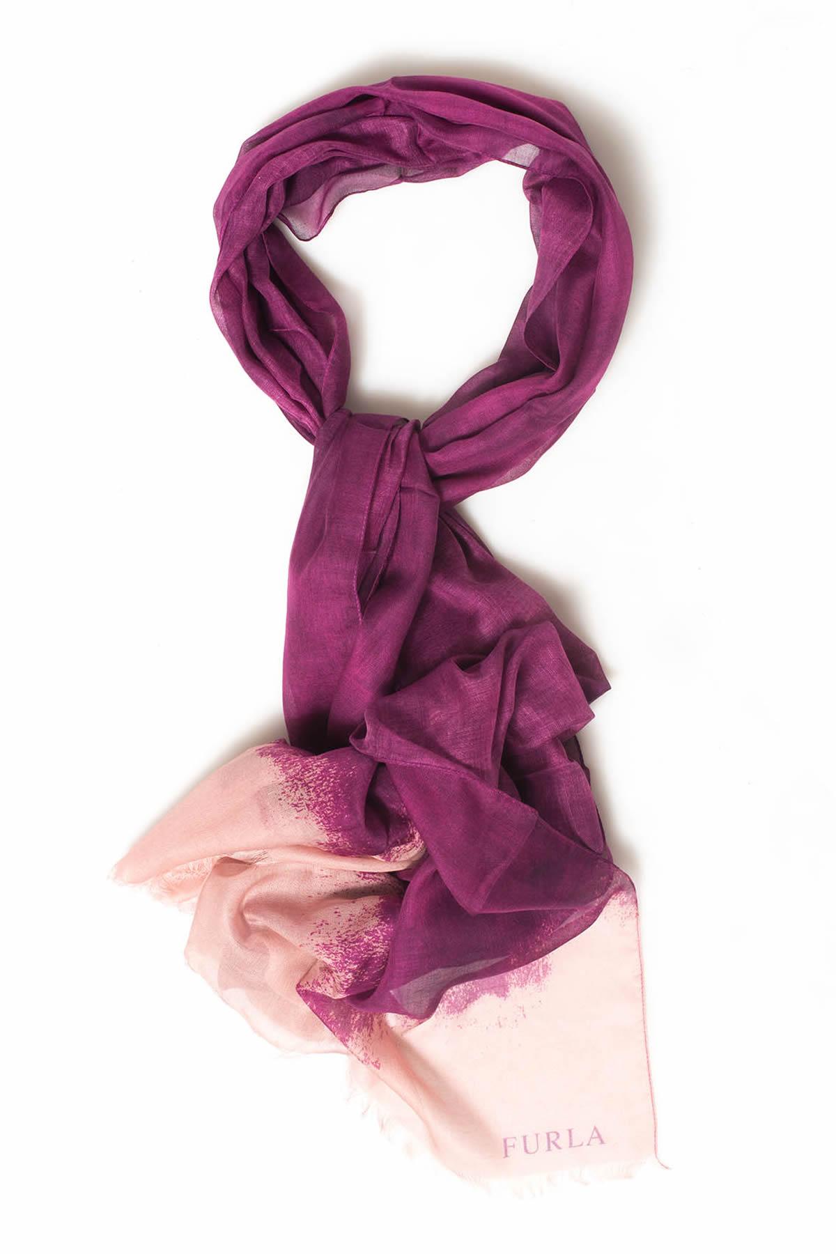 furla foulard viola modal donna