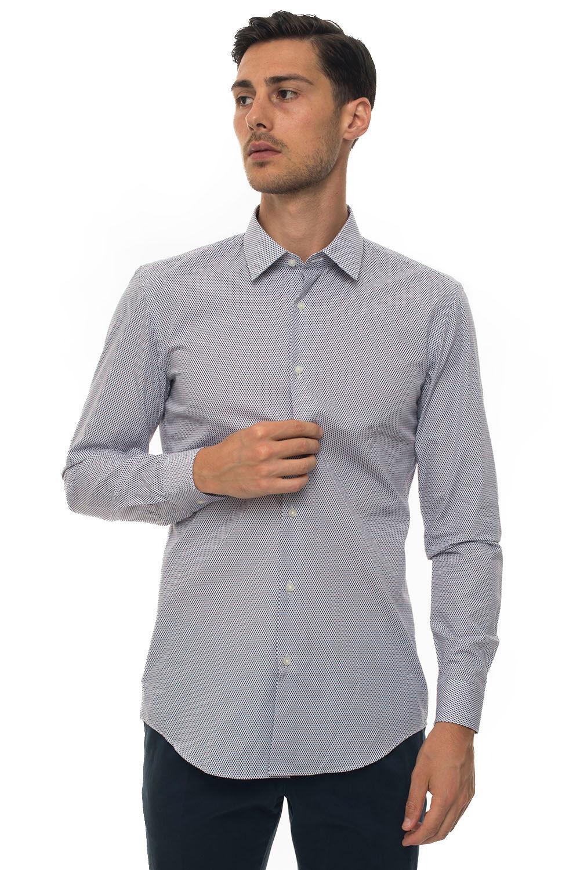 Boss Camicia casual Bordeau Cotone Uomo