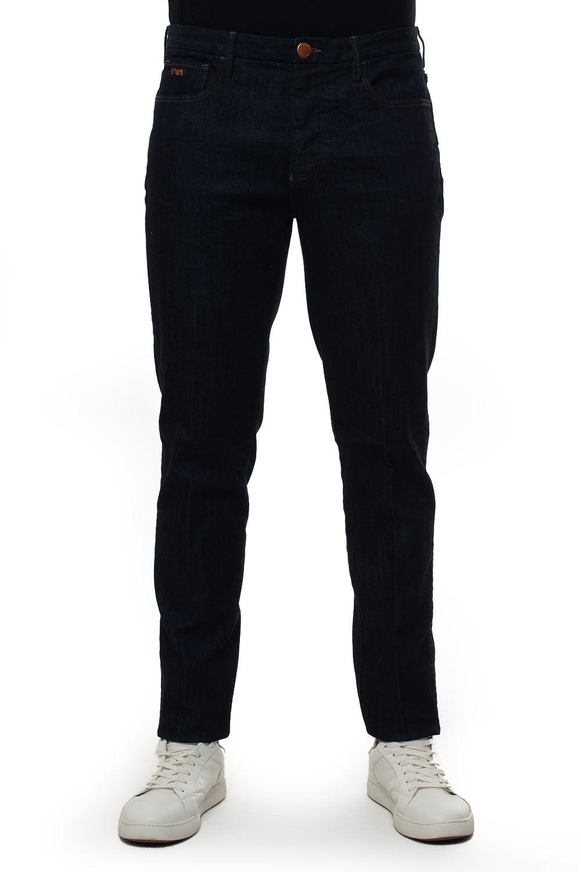 Giorgio Armani Jeans 5 tasche Denim blu Cotone Uomo