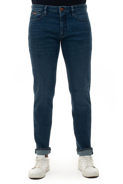 Giorgio Armani Jeans 5 tasche Denim medio Cotone Uomo