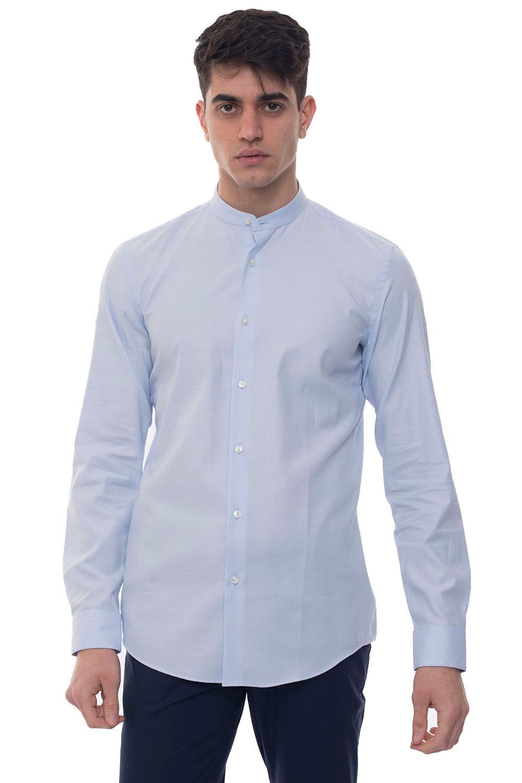 Boss Camicia casual Jordi Azzurro Cotone Uomo
