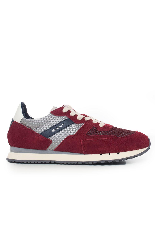 Gant Sneakers con lacci Mogano Pelle Uomo