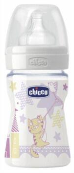 Chicco Biberon Benessere Silicone Girl 150 ml 0+