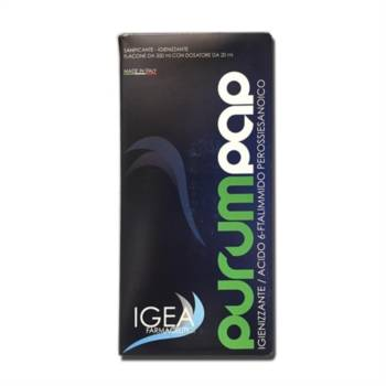 Igea Farmaceutici Linea Dermatologica Purum Pap Igienizzante Flacone da 350 ml