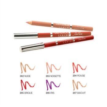 bionike trucco bionike linea defence color labbra lip design matite contorno labbra 203 noisett