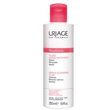 Uriage Linea Lenitiva Roseliane Fluido Dermodetergente Flacone 250 ml