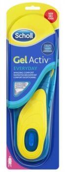 scholl linea sollievo del piede gel activ uso diario everyday donna 1 paio.