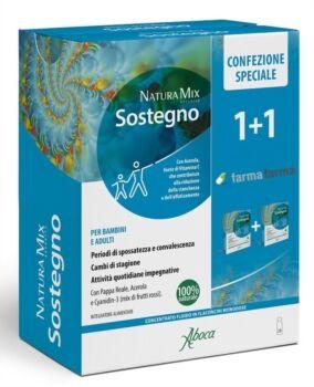 aboca naturaterapia linea tono ed energia natura mix advanced sostegno 10+10 fl.