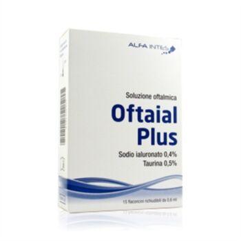 alfa intes linea salute dell'occhio oftaial plus soluzione oftalmica 15 fl.