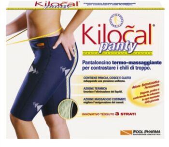 Kilocal Abbigliamento per il Benessere Panty Pantaloncino Blu Taglia XXL