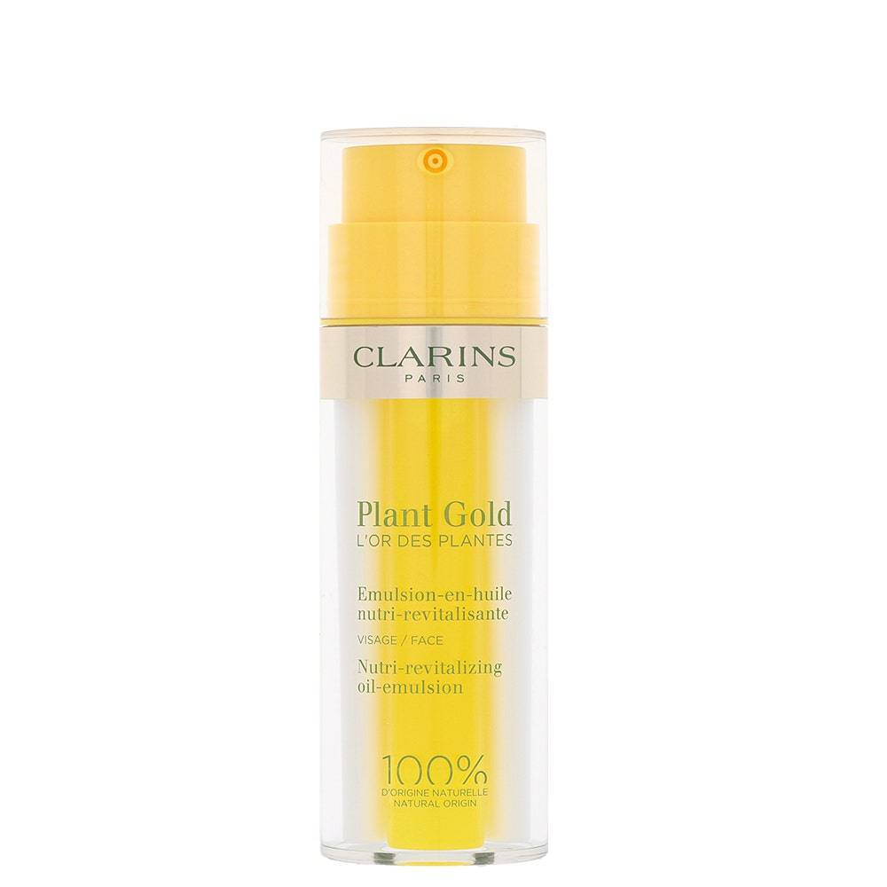 clarins plant gold - emulsion-en-huile nutri-revitalisante bi-fase 35ml