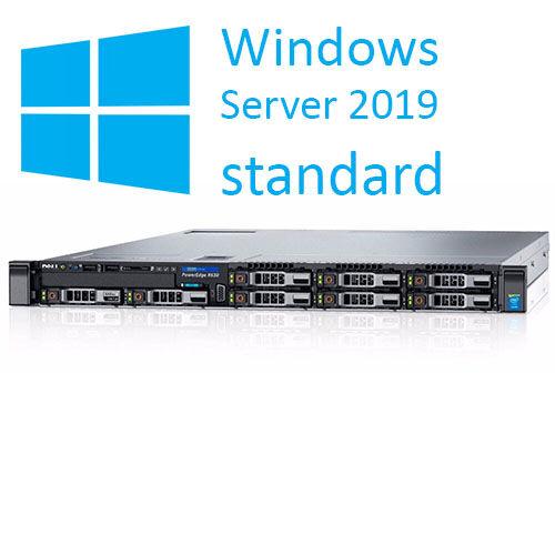 Dell PowerEdge R630 - 2x Xeon® DodecaCore, Ram 32GB, SSD 2x 480GB. Win Server 2019 Std