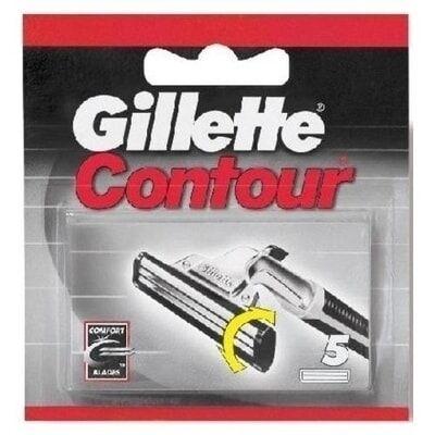 Gillette Contour Ricambi Lame 5 Pezzi