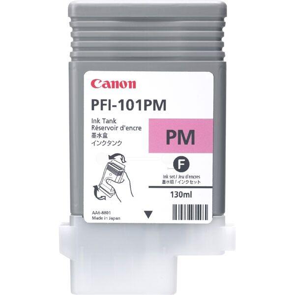 Canon Originale imagePROGRAF IPF 5000 Cartuccia stampante (PFI-101 PM / 0888 B 001) magenta foto, Contenuto: 130 ml