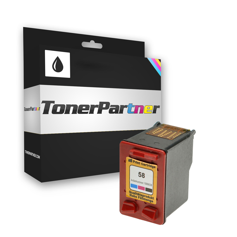 TonerPartner Compatibile con HP DeskJet 5550 Cartuccia stampante (58 / C 6658 AE) foto, 140 pagine, 10.85 cent per pagina, Contenuto: 17 ml di
