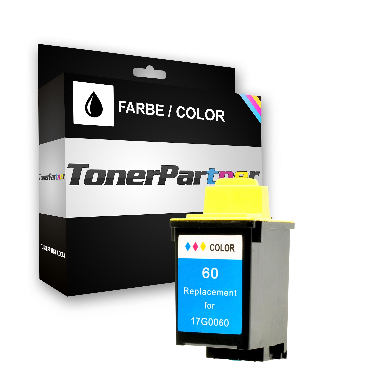 TonerPartner Compatibile con Lexmark Z 32 Cartuccia stampante (60 / 17G0060E) colore, 700 pagine, 2.42 cent per pagina, Contenuto: 21 ml di