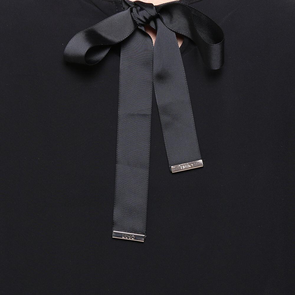 Liu Jo Donna A/I Camicia nera in voile