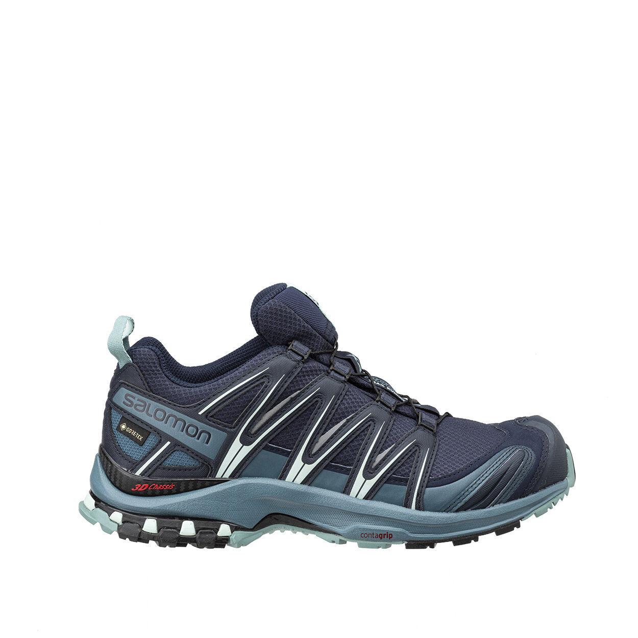 salomon xa pro 3d gtx - scarpe trail running navy blu