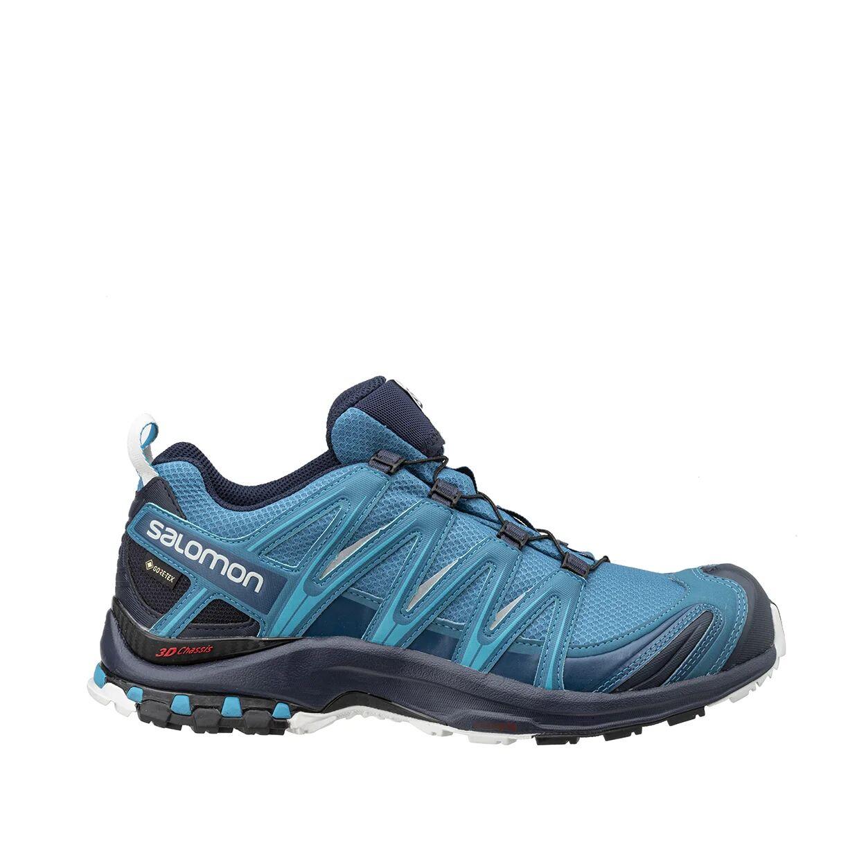 salomon xa pro 3d gtx - scarpe trail running azzure e blu navy