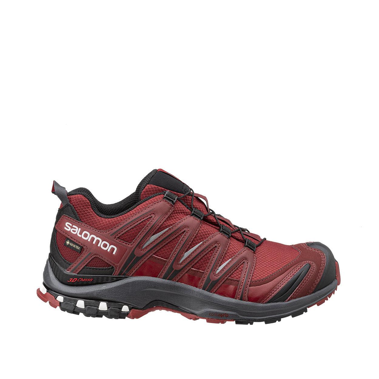 salomon xa pro 3d gtx - scarpe trail running rossa