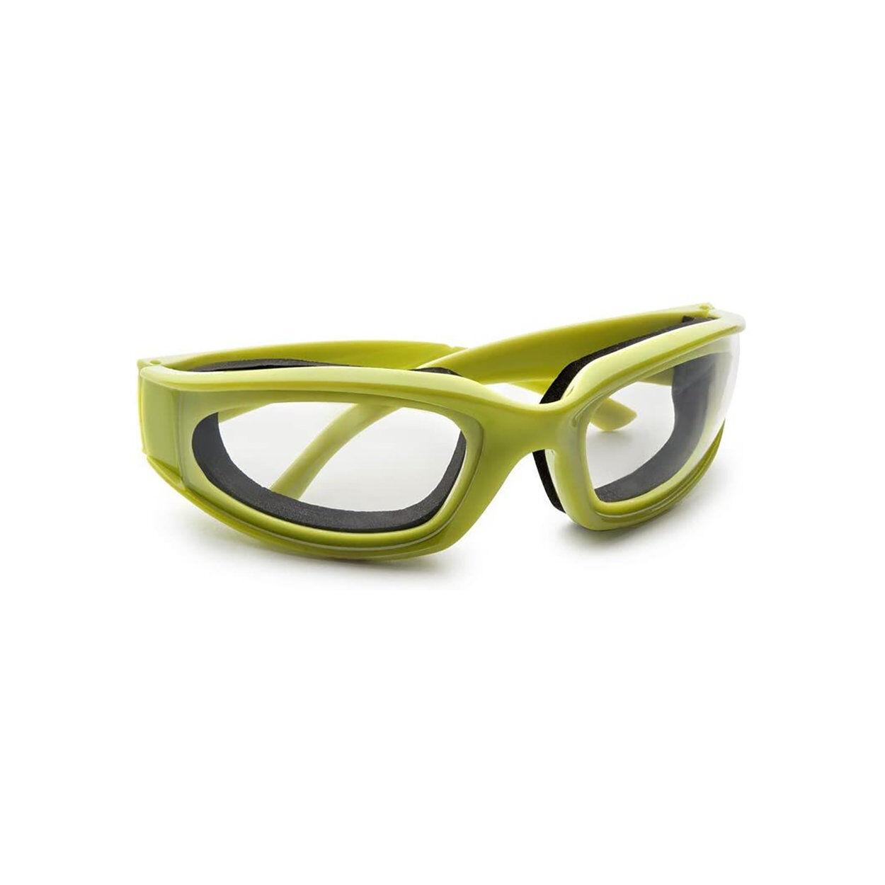 ibili occhiali di protezione per tagliare cipolla, verde