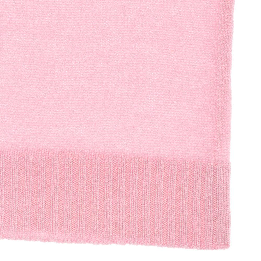 Malo Accessori Sciarpa garza in cashmere, rosa peonia