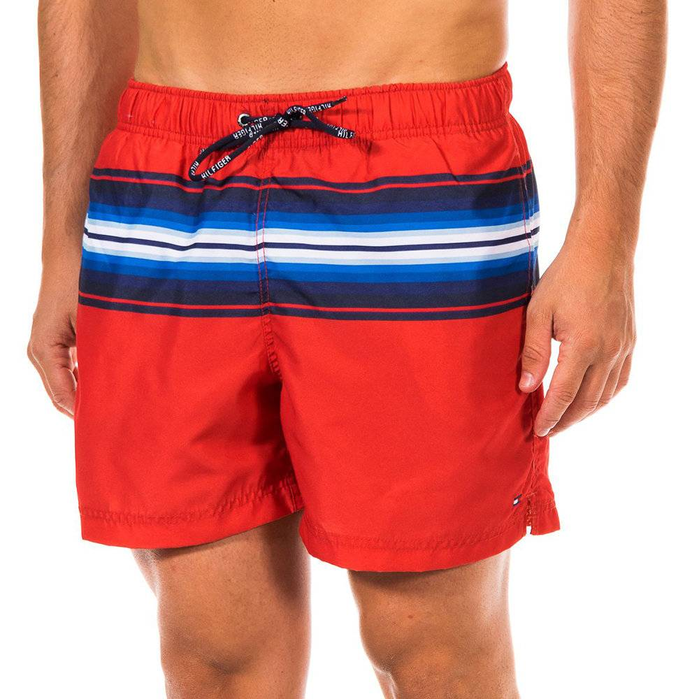 Tommy Hilfiger Boxer mare rosso a righe