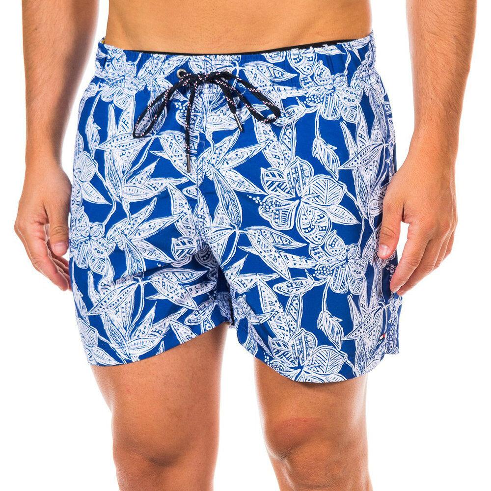 Tommy Hilfiger Boxer mare fiori stilizzati blu