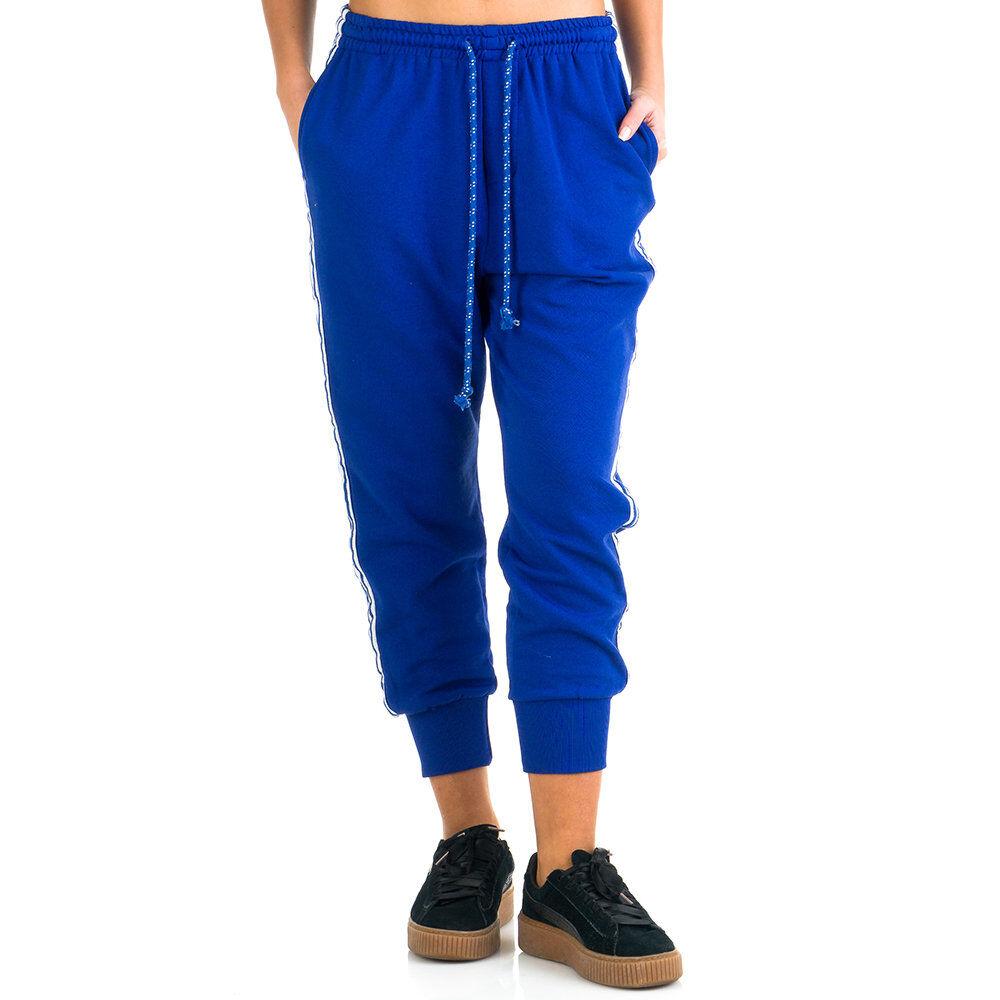 Simona Sole Abbigliamento Pantaloni sportivi blu elettrico