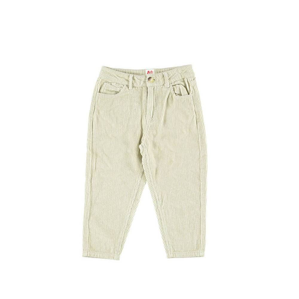 AMERICAN OUTFITTERS Pantalone beige in Velluto